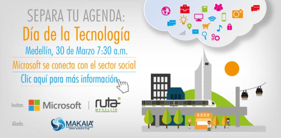 Microsoft NGO Day 2016 Colombia Medellín